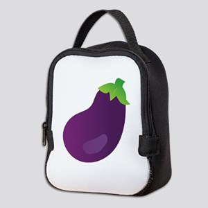 Eggplant Neoprene Lunch Bag